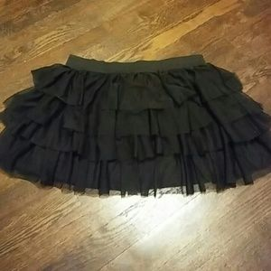 Dresses & Skirts - Frilly black tutu skirt